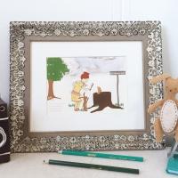 Nancy Drew Art Prints, Nursery Wall Art