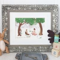 Neverending Story Inspired Nursery Art