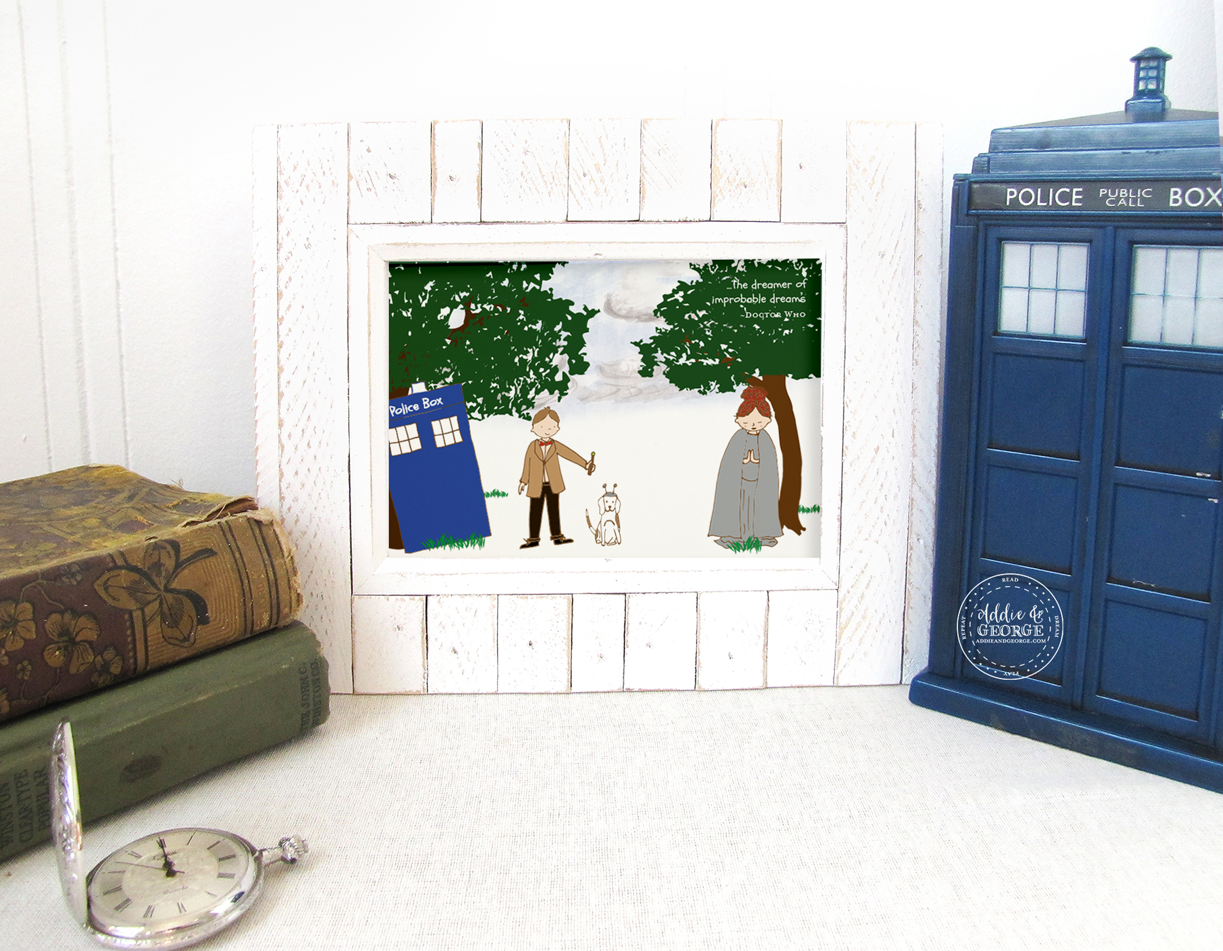 Nursery Art Prints Room Decor Doctor Who Gifts For