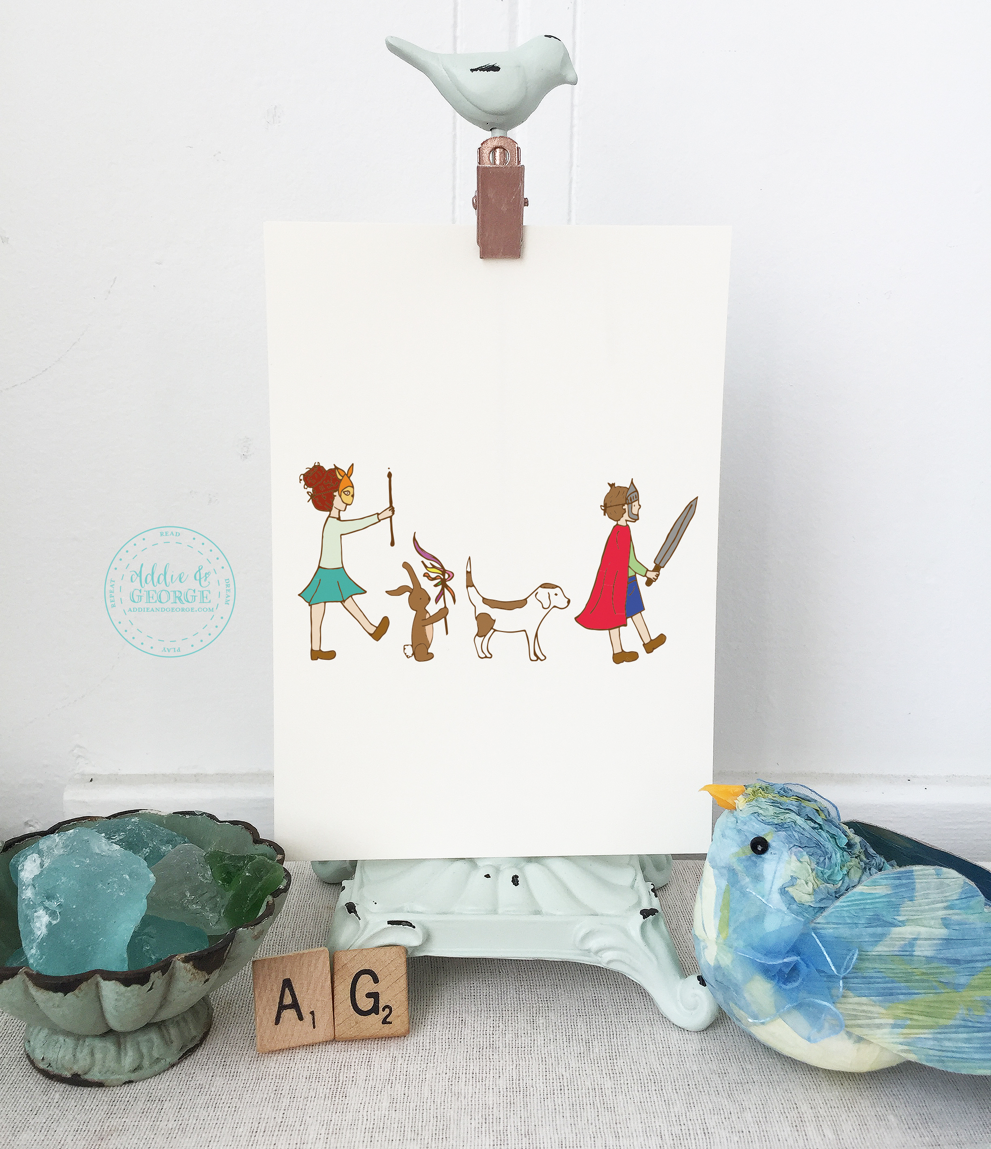Nursery Décor For The Grown Ups: Addie And George