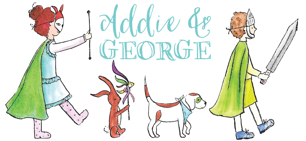 Addie and George - Wall Art for the Imagination & Toys for Adventure